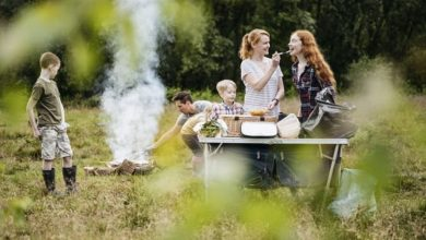 Camping: Quick and easy recipes to cook even if you are staying in a tent
