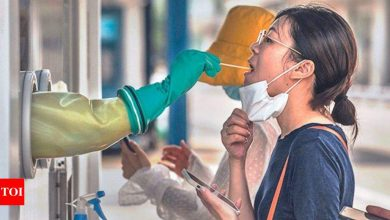 China reports decline in new coronavirus cases for Aug 11 - Times of India