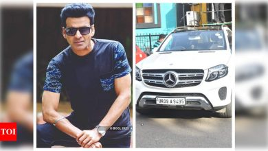 Exclusive photos: Manoj Bajpayee becomes a proud owner of a brand new luxury car - Times of India