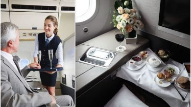 Five ways to get special service and free upgrades on flights - crew can 'work miracles'