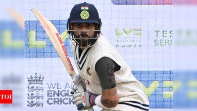 For us it is just pursuit of excellence: Virat Kohli | Cricket News - Times of India