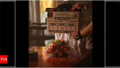 'Freddy': Kartik Aaryan shares a BTS picture from the sets - Times of India