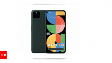 Google Pixel 5a Launch: Google launches Pixel 5a; Features, specs and more | - Times of India