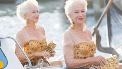 Helen Mirren, 76, looks radiant as she arrives at Dolce & Gabbana show in Venice