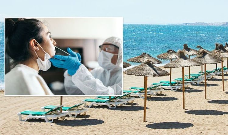 Holiday dreams shattered as 22 million Britons 'priced out' by expensive PCR tests