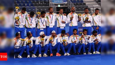 India Hockey Team: 'Wonderful outcome for hockey': Charlesworth on Indian men's team winning bronze | Tokyo Olympics News - Times of India