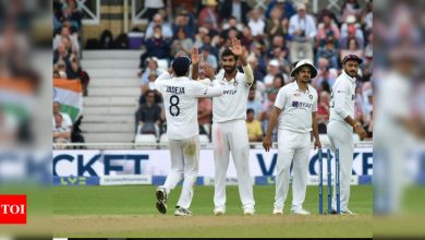 India vs England, 1st Test: Jasprit Bumrah stars as India bowl England out for 183 on Day 1 | Cricket News - Times of India