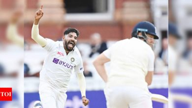 India vs England 2nd Test: After James Anderson burst, a Mohammed Siraj special | Cricket News - Times of India