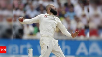 India vs England: Moeen Ali recalled to England squad ahead of 2nd Test | Cricket News - Times of India