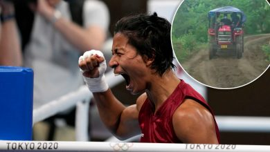 India's bronze-winning boxer honored with new road in rural village