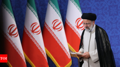 Iran ultraconservative Ebrahim Raisi inaugurated as President - Times of India