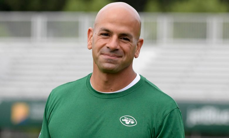 Jets' Robert Saleh now exudes calm after animated past