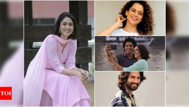 Kangana Ranaut, Farhan Akhtar, Shahid Kapoor and other celebs pour in heartfelt wishes for Mrunal Thakur's birthday - Times of India
