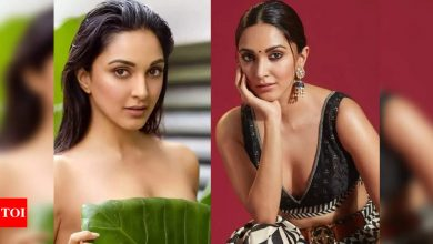 Kiara Advani reacts to troll comments on her topless photoshoot for Dabboo Ratnani's calendar - Times of India