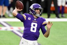 Kirk Cousins would rather surround himself with glass than get COVID-19 vaccine