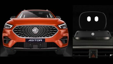 The MG Astor is the first SUV in India to feature an actual AI-powered robot inside the vehicle. Image: MG Motor India