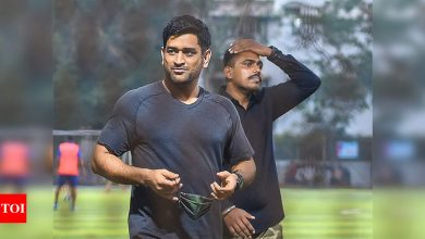 MS Dhoni: Twitter restores blue verification badge on MS Dhoni's account   Off the field News - Times of India