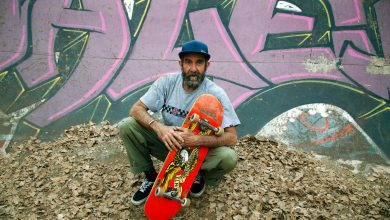 Meet Dallas Oberholzer — the 46-year-old skateboarder taking on teens at Olympics