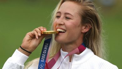 Nelly Korda captures Olympic gold in golf