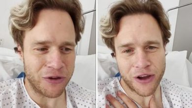 Olly Murs in hospital after undergoing surgery following horror injury 'Mad 72 hours'