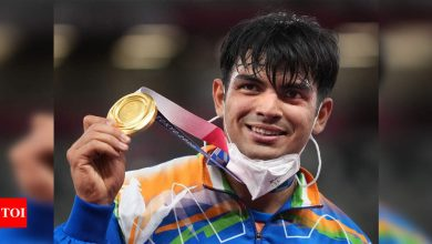 Olympic gold medallist Neeraj Chopra down with high fever, tests negative for Covid-19 | Off the field News - Times of India