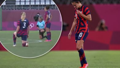 Only one USWNT player didn't kneel ahead of Olympic soccer match