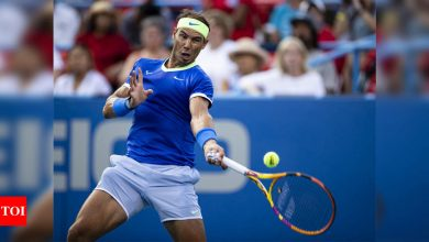 Rafael Nadal out of Cincinnati, adds to doubt over US Open | Tennis News - Times of India