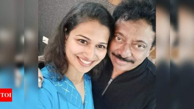 Ram Gopal Varma and Inaya Sultana's second viral video surfaces - Times of India