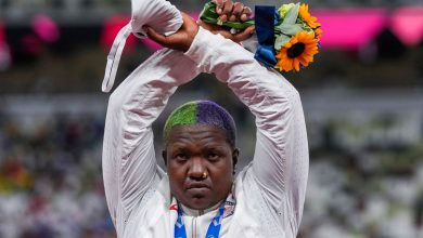 Raven Saunders didn't break rules with Olympic protest, US officials say