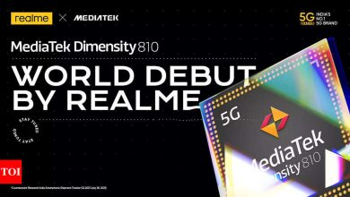 Realme teases smartphone with MediaTek Dimensity 810 5G processor - Times of India