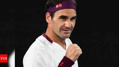 Roger Federer says return date 'uncertain' | Tennis News - Times of India