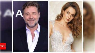 Russell Crowe retweets fan's message suggesting he should work with Kangana Ranaut - Times of India
