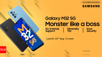 Samsung Galaxy M32 5G with 5000mAh battery to launch in India on August 25 - Times of India