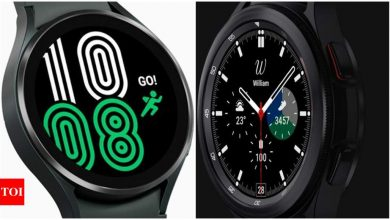 Samsung Galaxy Watch 4 and Galaxy Watch 4 Classic: How Samsung's two 2021 watches compare - Times of India