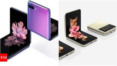 Samsung Galaxy Z Flip 3 vs Z Flip: What's same and what's not - Times of India