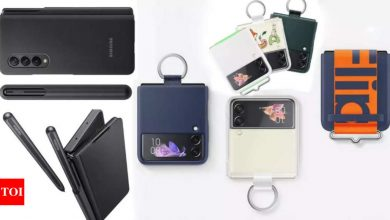 Samsung launches Galaxy Z Fold 3 5G and Z Flip 3 accessories in India - Times of India