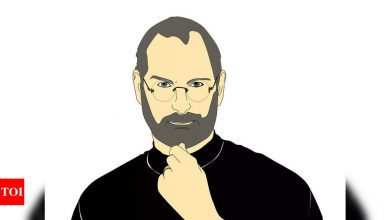 Samsung takes a dig Apple co-founder Steve Jobs - Times of India