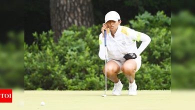 Self-taught Aditi Ashok prefers to play without a coach   Tokyo Olympics News - Times of India