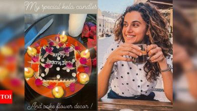 Taapsee Pannu shares an inspiring post on her birthday; says, 'look forward to what life has in store for me' - Times of India