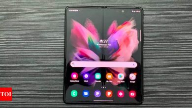 This is how much you will have to pay to replace broken foldable screens of Samsung Galaxy Z Fold 3, Z Flip 3 - Times of India