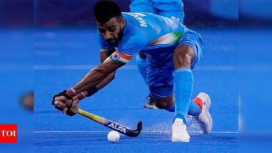 Tokyo Olympics 2020: No time for disappointment, have to focus on bronze medal match, say Manpreet and Sreejesh   Tokyo Olympics News - Times of India