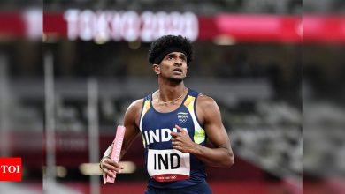 Tokyo Olympics: Indian 4x400m relay team breaks Asian record but fails to qualify for final   Tokyo Olympics News - Times of India