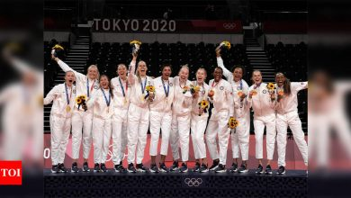 Tokyo Olympics: USA top Olympic medal table as delayed Games draw to close | Tokyo Olympics News - Times of India