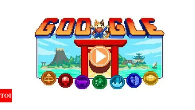 Tokyo Paralympics Day 2: Google Doodle Champion Island Games offer swimming as special game - Times of India