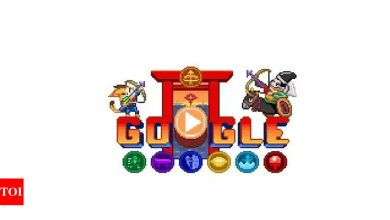 Tokyo Paralympics Day 3: Google Doodle Champion Island Games celebrate with animated archery game - Times of India