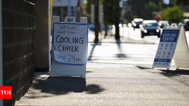 US Heat Wave: Northwest sizzles as heat wave hits many parts of US   World News - Times of India