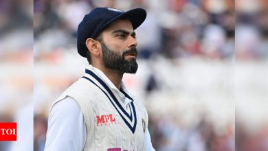 Virat Kohli says first Test's team 'template' for remainder of series | Cricket News - Times of India