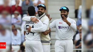 We won't plug in someone in place of Shardul Thakur for just few runs, 20 wickets more important: Virat Kohli | Cricket News - Times of India