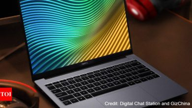 realme book:  Realme's first-ever laptop gets a launch date - Times of India