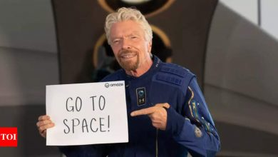 virgin galactic:  Richard Branson's Virgin Galactic is giving you a chance for a free space trip - Times of India